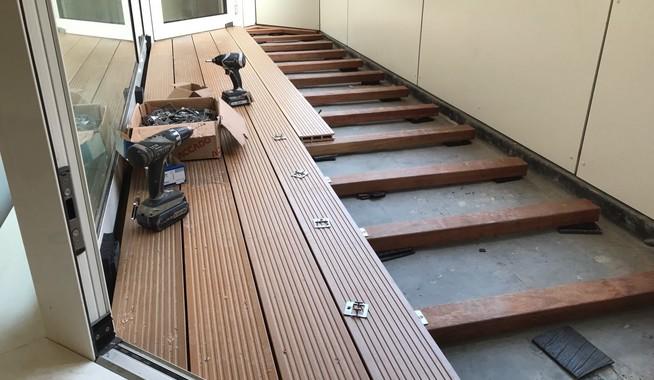 Vloer Voor Balkon : Composietvloeren op balkons exclusieve dakterrassen